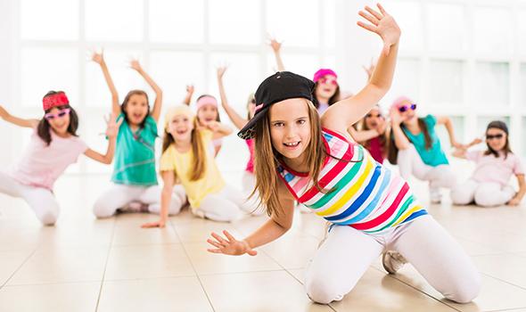 Enfant dansant le Hip Hip chez Burpees Studio à Tours