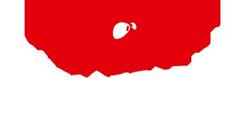 Logo chien rouge de la salles de sport Burpees Studio