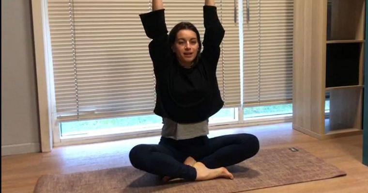 Yoga avec Mathilde