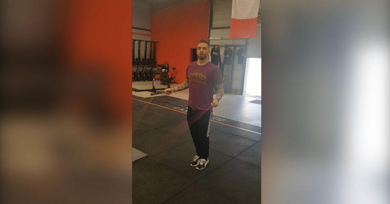 Training corde à sauter avec Julien