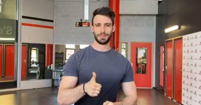 training challenge avec Maxime